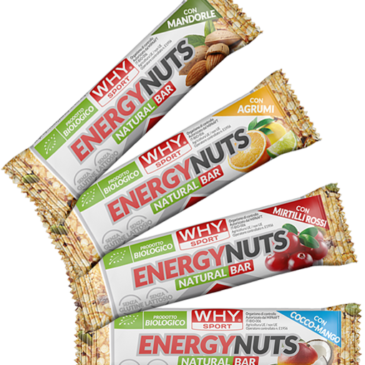 WHY SPORT ENERGY NUTS € 1,70